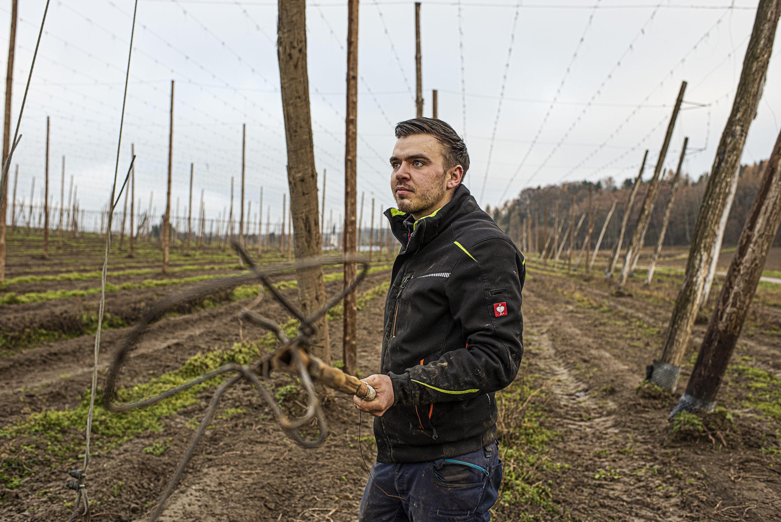 Header für die landwirtschaftliche Betriebshilfe